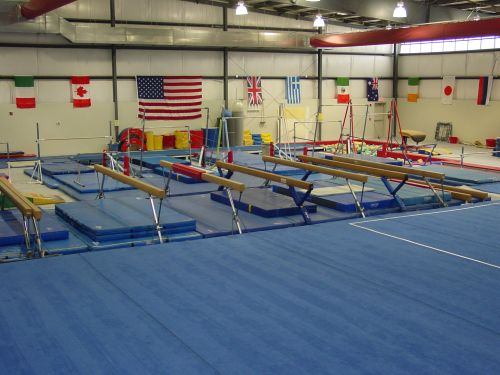 gymnastics training center